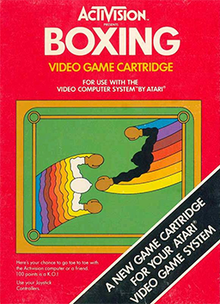 Box art for the game Boxing