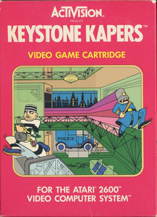 Box art for the game Keystone Kapers