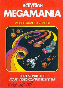 Box art for the game Megamania