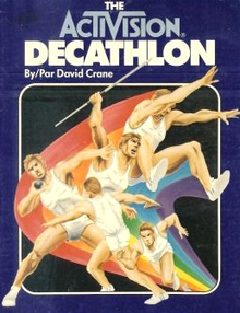 Box art for the game The Activision Decathlon