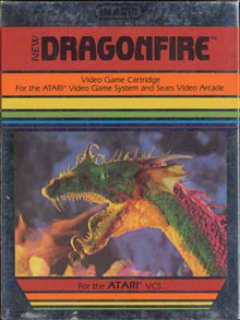 Box art for the game Dragonfire