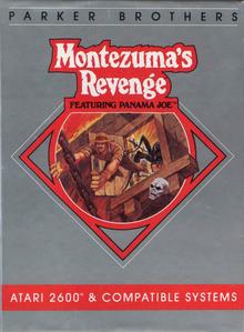 Box art for the game Montezuma's Revenge