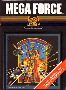 Box art for the game Mega Force