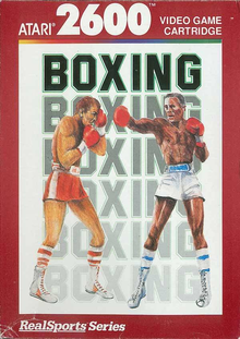 Box art for the game RealSports Boxing