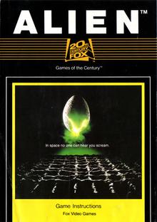 Box art for the game Alien
