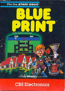 Box art for the game Blue Print