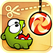 Box art for the game Cut the Rope