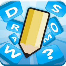 Box art for the game Draw Something by OMGPOP