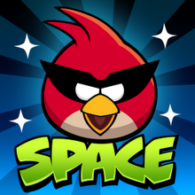 Box art for the game Angry Birds Space