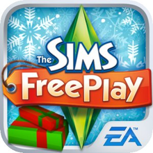 Box art for the game The Sims FreePlay