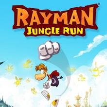 Box art for the game Rayman Jungle Run