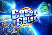 Box art for the game Cosmic Colony