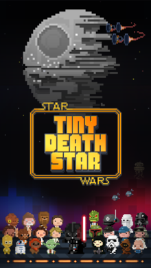 Box art for the game Star Wars: Tiny Death Star