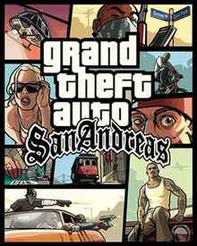Box art for the game Grand Theft Auto: San Andreas
