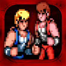 Box art for the game Double Dragon Trilogy