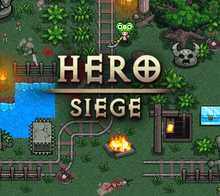 Box art for the game Hero Siege