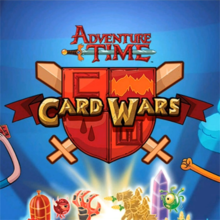 Box art for the game Card Wars - Adventure Time
