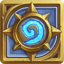 Box art for the game  Hearthstone: Heroes of Warcraft