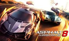 Box art for the game Asphalt Airborne 8
