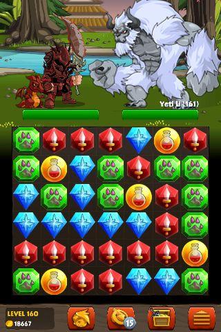 Adventure Quest: Battle Gems - Android - Alvanista