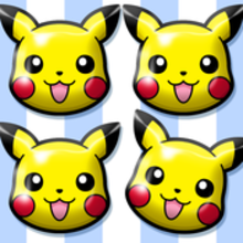Box art for the game Pokémon Shuffle Mobile