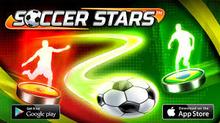 Box art for the game Soccer Stars