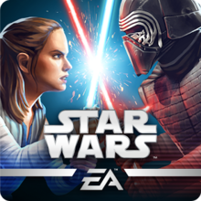 Box art for the game Star Wars: Galaxy of Heroes