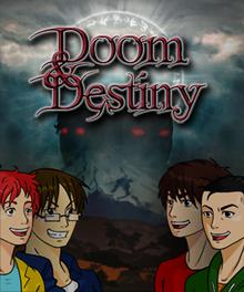 Box art for the game Doom & Destiny
