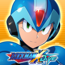 Box art for the game Rockman X Dive