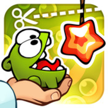 Box art for the game Cut the Rope: Experiments