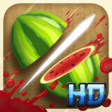 Box art for the game Fruit Ninja HD