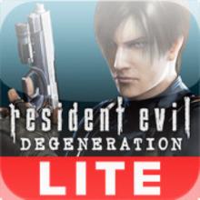 Box art for the game Resident Evil: Degeneration Lite