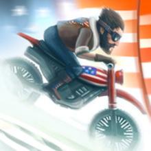 Box art for the game Bike Baron