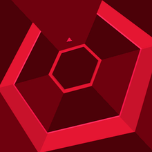 Box art for the game Super Hexagon