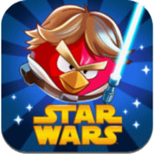 Box art for the game Angry Birds Star Wars