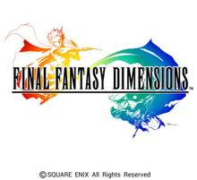 Box art for the game Final Fantasy Dimensions