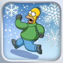 Box art for the game The Simpsons: Tapped Out
