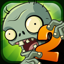 Box art for the game Plants vs Zombies 2: It's About Time