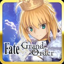 Capa do jogo Fate/Grand Order