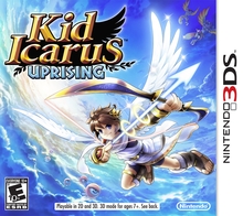 Box art for the game Kid Icarus: Uprising