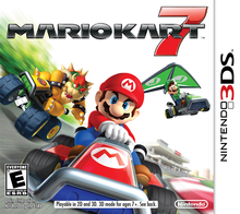 Box art for the game Mario Kart 7