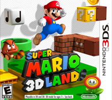 Box art for the game Super Mario 3D Land
