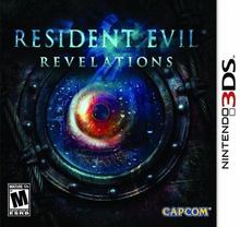 Box art for the game Resident Evil Revelations