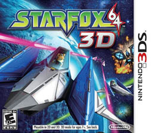 Box art for the game Star Fox 64 3D