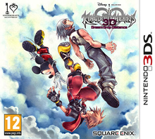 Box art for the game Kingdom Hearts 3D: Dream Drop Distance