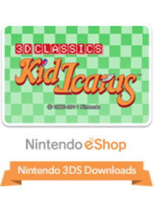 Box art for the game 3D Classics: Kid Icarus