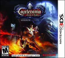 Box art for the game Castlevania: Lords of Shadow - Mirror of Fate