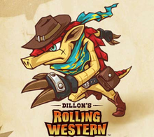 Box art for the game Dillon's Rolling Western
