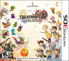 Box art for the game Theatrhythm Final Fantasy