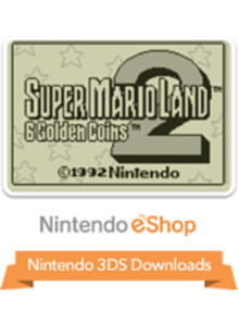 Box art for the game Super Mario Land 2